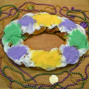 Small RC Special King Cake - Randazzo's Camellia City Bakery